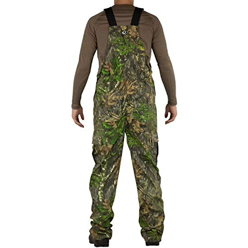 Mossy Oak Men's Mo Cotton Mill 2.0 Hunt Bib, Obsession, 3X-Large by Mossy Oak (Image #1)