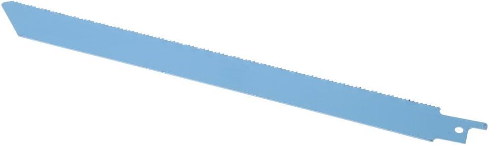 SHUXIN 5 hojas de sierra de sable de 227 mm 9 pulgadas S1122BF para corte de madera y metal