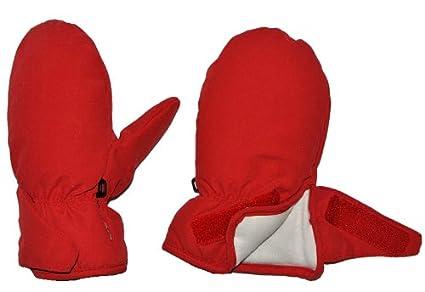 Klettverschlu/ß Fausthandschuh Handschuhe wasserdicht Thi.. Gr/ö/ße: 3 bis 6 Monate Unbekannt Handschuhe mit langem Schaft rot Thermo gef/üttert Thermohandschuh