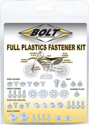 Bolt MC Hardware Full Plastic Fastener Kit HON-0007124