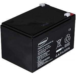 Powery Batería de GEL para SAI APC RBC4