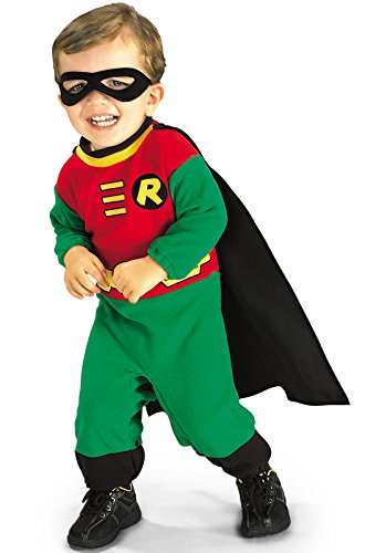 Halloween Costume Ideas For 3 Month Old (Teen Titans Robin Baby Infant Costume Accessory -)