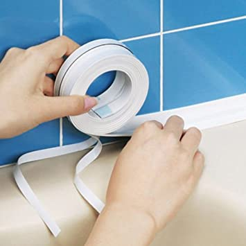 Kitchen Bathroom Wall Sealing Tape Waterproof Mold Proof Adhesive