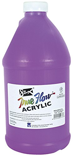 Sax True Flow Medium-Bodied Acrylic Paint - 1/2 Gallon - Mag