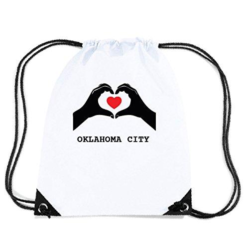 City Turnbeutel Design Oklahoma Jollify Herz Gym4401 Tasche Hände