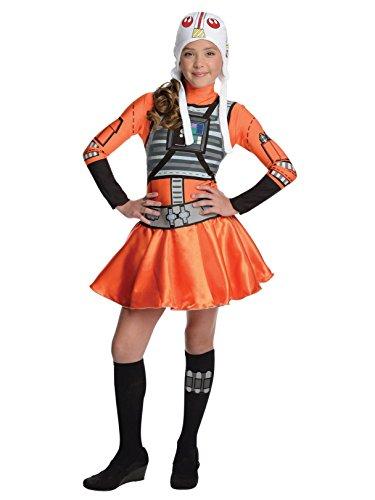 Star Wars X-Wing Fighter Tween Costume Dress, Small ()