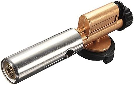 Elektronische Zündung Flamme Butangas Brenner Gun Makers Torch Feuerzeuge AB