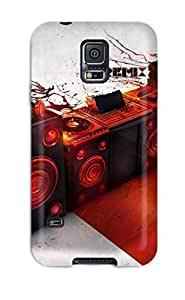 High Quality ADgLeWL9879satkb Dj Music Remix Tpu Case For Galaxy S5