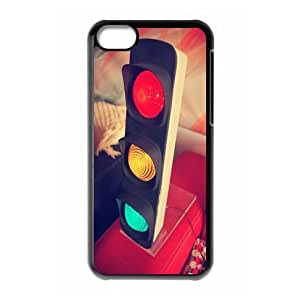 Beautiful Vintage Traffic lights theme for iPhone 5c hard back case