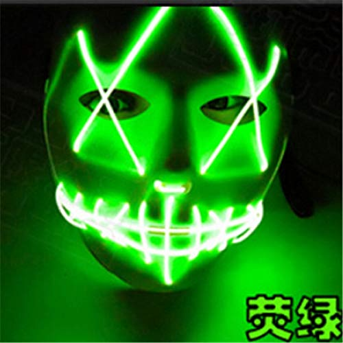 G Masks  Halloween Luminou Mask Horror Grimace Bloody Wire Club Bar Glowing  Game Seller Deal Jewelry Video Today S Book Dining Kitchen Clothing Toy Wished  1PCs