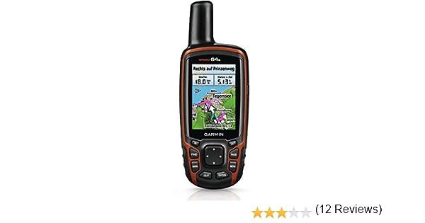 Garmin GPSmap 64s + TOPO DE V6 PRO: Amazon.es: Electrónica