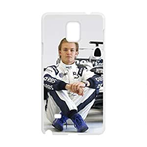 Happy Nico Rosberg White Phone Case for Samsung Galaxy Note4