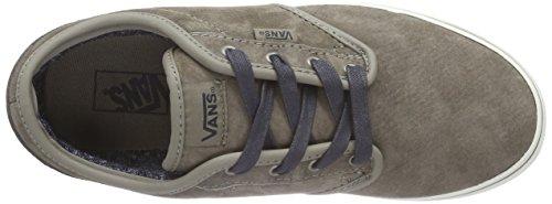 VansY ATWOOD - Zapatillas Niños^Niñas gris - Grau ((MTE) brindle/marshmallow)