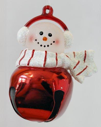 Jingle Buddies Snowman Red Bell Striped (Jingle Buddies Bell)