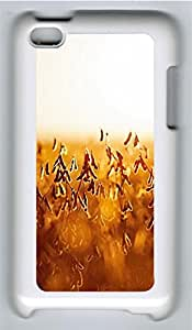 iPod 4 Case, iPod 4 Cases - Autumn harvest PC Polycarbonate Hard Case Back Cover for iPod 4¨CWhite