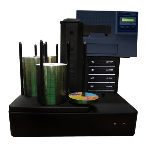 Cronus Plus 4 Burner 500 Disc Capacity Thermal Blu-ray DVD CD Publishing System with Built-in PC