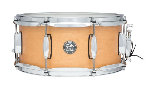 Gretsch Drums Marquee GM-0613S-SN 13-Inch Snare Drum, Satin Natural (Drum Maple Snare Satin)