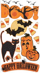 EK Success Vellum Stickers - Boo