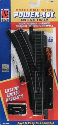 Life-Like Trains Power-Loc   HO Scale Track - Left Hand Remo