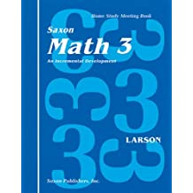 Saxon Math 3 Homeschool: Complete Kit 1st Edition