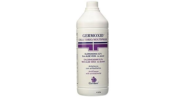GERMOXID enjuague bucal 1 l-con clorhexidina: Amazon.es: Salud y cuidado personal