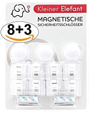 Magnetische Kindersicherung Schrank und Schublade Kleiner Elefant Unsichtbare Schranksicherung Schubladensicherung für Babys für Küchen
