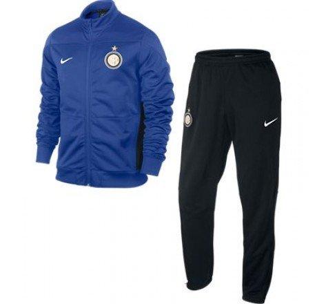 2013-14 Inter Milan Nike Knit Euro Tracksuit (Blue)