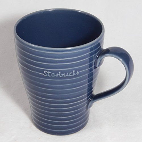 Starbucks Coffee 2009 Design House Navy Threads Mug, 12 oz. ()