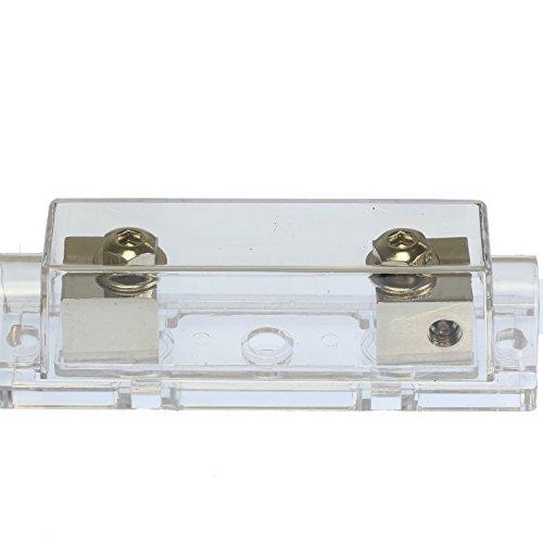 VOODOO (1) 400 AMP ANL Fuse & (1) Inline Fuseholder Battery Install Kit 1/0 Gauge 1FT by VOODOO (Image #6)