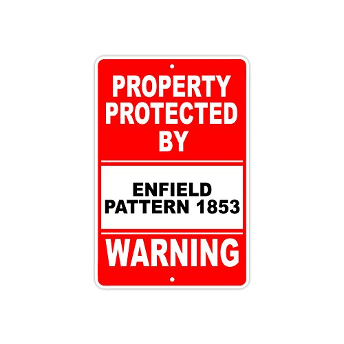 - Protected by ENFIELD PATTERN 1853 Gun Pistol Rifle Revolver Ammo Aluminum 12