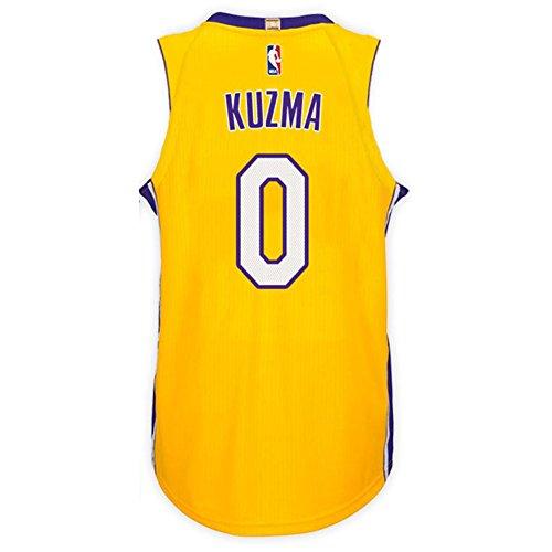 6239d18b7 Kuzma Men s Yellow Lakers Swingman Jersey Shirt 17 18 - Buy Online in KSA.  Sports products in Saudi Arabia. See Prices