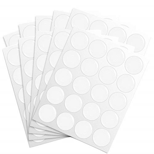IGOGO 200 PCS Clear Epoxy Stickers Craft Bottle Caps Stickers for Hair Bows Pendants Scrapbooks 1 - Bottle Bow Cap