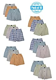 Joseph Abboud Boys 18 Pack Boxers (X-SMALL, ASSORTED)