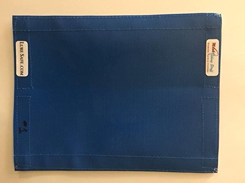 Fishing Gear & Bait,Tackle & Lure Covers & Pole Wraps(Blue)6.5x8.5