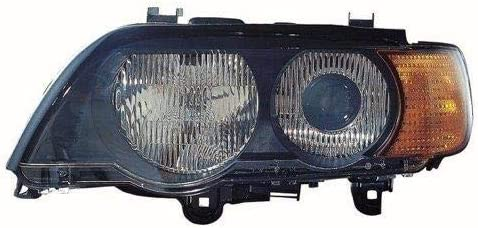 Go-Parts - for 2000 - 2003 BMW X5 Front Headlight Assembly Housing / Lens / Cover - Left (Driver) Side 63 12 6 930 233 BM2518108 Replacement 2001 2002