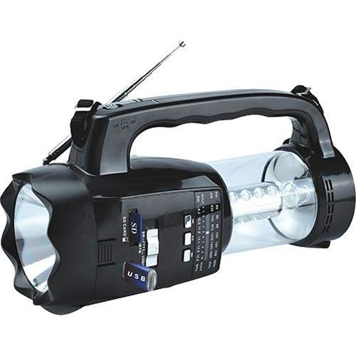 Supersonic 3-Way Emergency Radio/Flashlight/Lantern - SC-1093