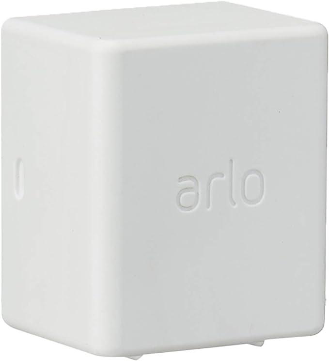 Batterie additionnelle et sa housse blanche Accessoire Arlo Pro 3 et Arlo Ultra