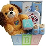 Patches the Puppy ABC's New Baby Gift Basket