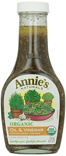 Annie's Naturals Organic Oil and Basil Vinaigrette, 8 - Vinaigrette Basil