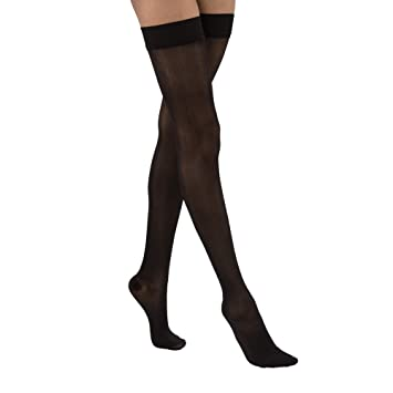 301ad92e87 BSN Medical 122331 Jobst Ultra Sheer Compression Stockings, Thigh High, 30-40  mmHG
