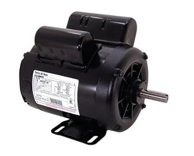 A.O. Smith B385 5 SPL, 3600 RPM, 56 Frame, 1 Service Factor, CW-OSE Rotation, 5/8-Inch by 1-7/8-Inch Keyed Shaft Compressor Motor