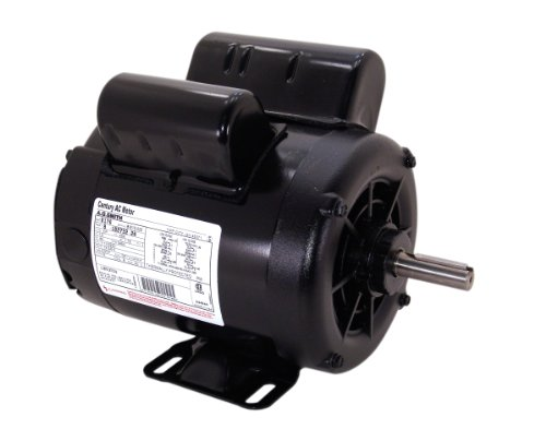 A.O. Smith B385 5 SPL, 3450 RPM, 56 Frame, 1 Service Factor, CW-OSE Rotation, 5/8-Inch by 1-7/8-Inch Keyed Shaft Compressor Motor