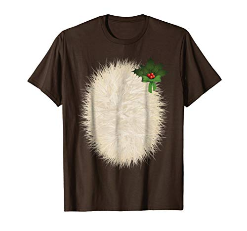 Deer Belly Tshirt Halloween Costume Rudolph Shirt DIY]()