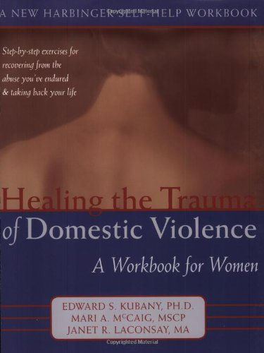 Buy cheap healing the trauma domestic violence workbook for women new harbinger self help