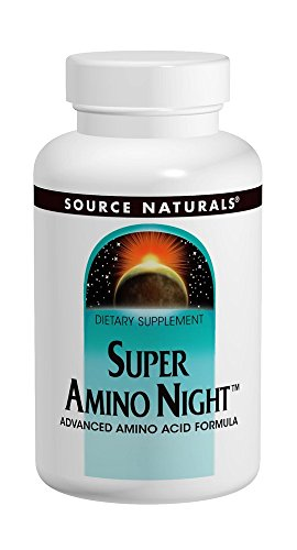 Source Naturals Super Amino Night, 60 Capsules