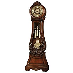 Diana Inner Lamp 84H Grandfather Clock Embassy Cherry Dimensions: 27W X 13.75D X 84H Weight: 147 Lbs