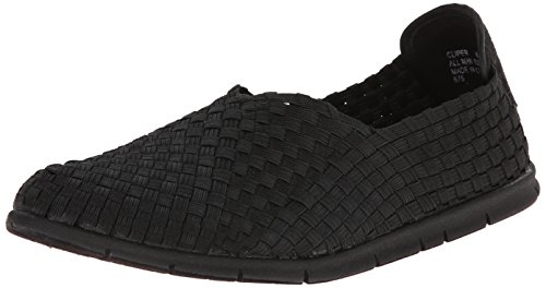 Steven By Steve Madden Women Cliper Fashion Sneaker Black