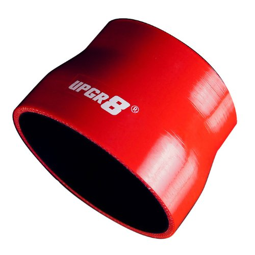 (Upgr8 Universal 4-Ply High Performance Straight Reducer Coupler Silicone Hose (3.5