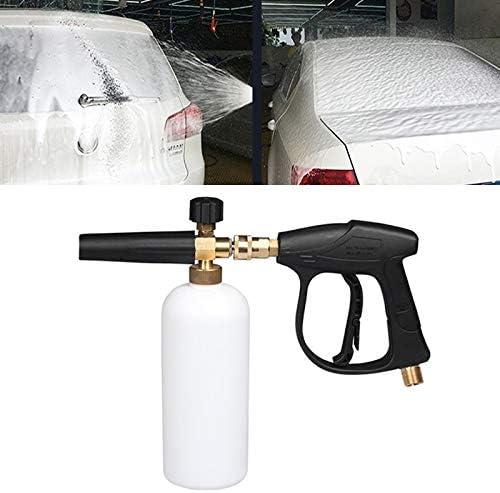 WTYD 高圧洗車の泡銃の石鹸の泡立て器の発電機水スプレーヤー銃、3/8 Quickconnect