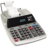 Canon MP11DX Soft Touch Printing Calculator - 12 Character(s) - Fluorescent - AC Supply Powered - 3.2amp;quot; x 8.6amp;quot; x 12.7amp;quot;
